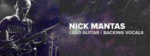 Nick Mantas - Lead Guitar & Backing Vocals